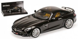 Brabus 600 IAA 2015 Auf Basis Mercedes-Benz AMG GT S 2015 (black)