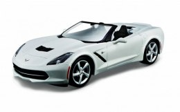 Model metalowy Chevrolet Corvette 1:24 do składania
