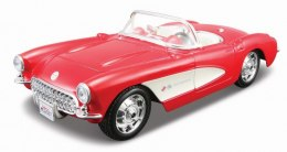 Model metalowy Chevrolet Corvette 1957 1:24 do składania