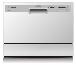 Goddess Dishwasher GODDTC656MW8 Table, Width 55 cm, Number of place settings 6, Number of programs 6, A+, AquaStop function, Whi