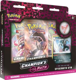 Karty Pokemon TCG Champion's Path Pin November Spikemuth Gym
