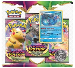 Karty Pokemon TCG Vivid Voltage 3Pack Blister Vaporeo