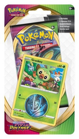 Karty Pokemon TCG Vivid Voltage Checklane Blister Grookey