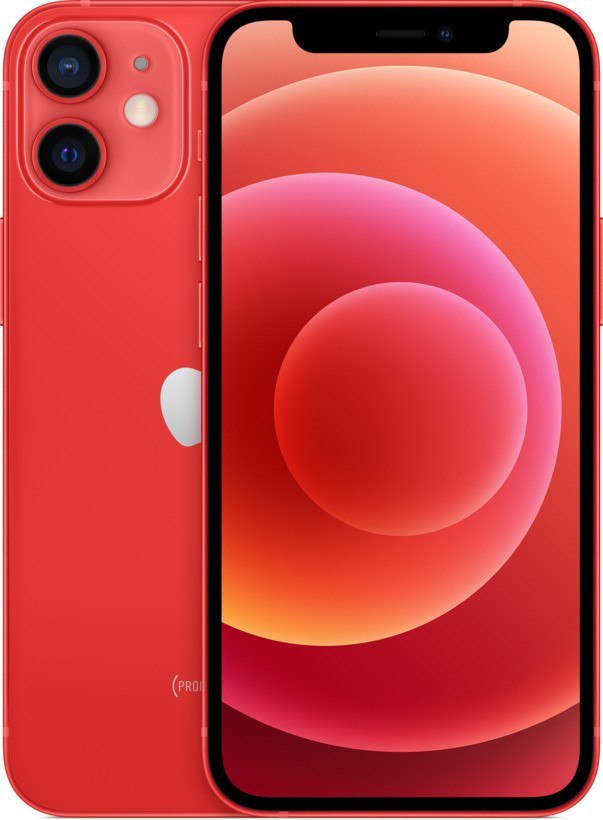 Smartphone APPLE iPhone 12 mini 128 GB Product Red (Czerwony) MGE53PM/A