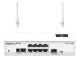 Switch MikroTik CRS109-8G-1S-2HnD-IN (8x 10/100/1000Mbps)
