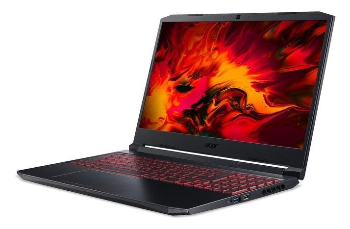 "Acer Nitro 5 AN515-44-R94X Black/Red, 15.6 "", IPS, FHD, 1920 x 1080 pixels, Matt, AMD, Ryzen 5 4600H, 8 GB, DDR4 RAM, SSD 512 GB"