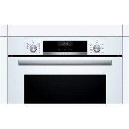Bosch Oven HBT517CW0S 71 L, A, Built-in, Regular, Mechanical, Height 59.5 cm, Width 59.4 cm, White