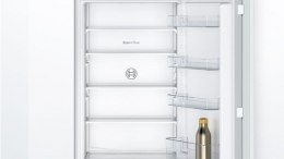 Bosch Refrigerator KIV87NFF0 A+, Built-in, Combi, Height 177 cm, Fridge net capacity 199 L, Freezer net capacity 69 L, 39 dB, Wh