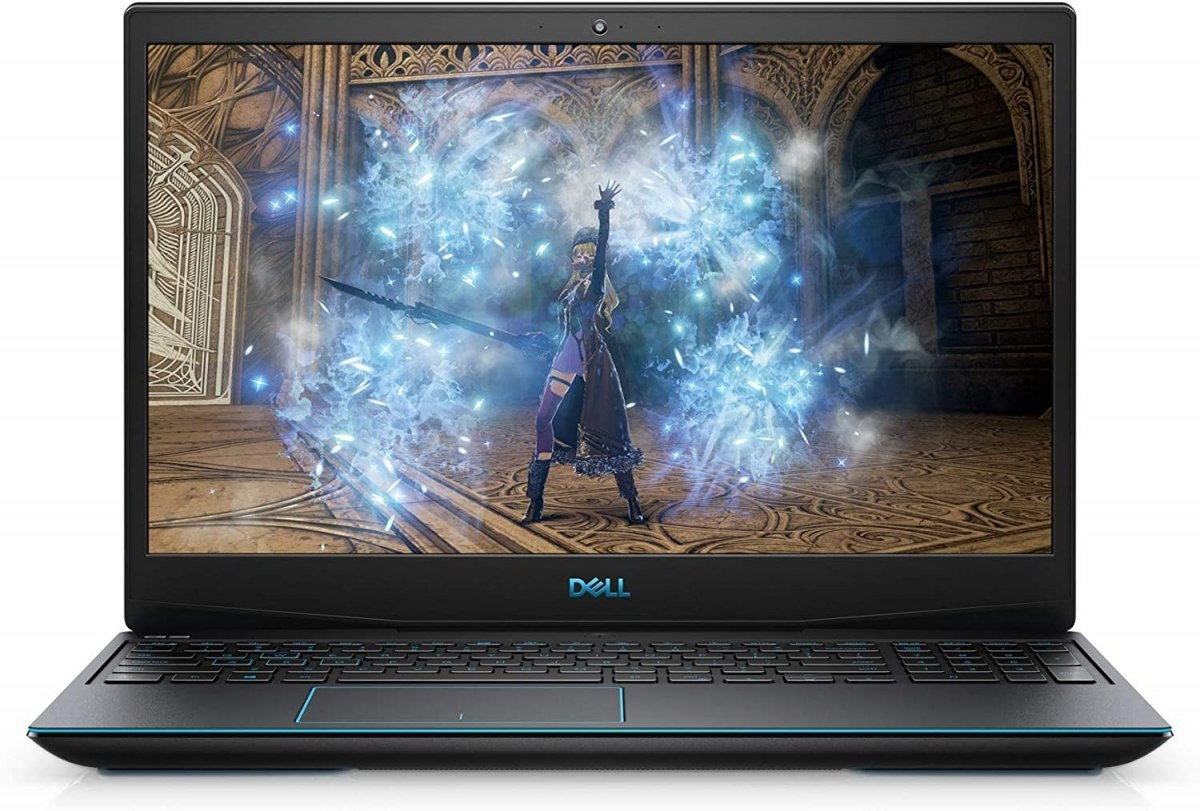 "Dell G3 15 3500 Black/Blue logo, 15.6 "", WVA, Full HD, 1920 x 1080, Matt, Intel Core i5, i5-10300H, 8 GB, DDR4, SSD 512 GB, NVID"
