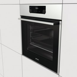 Gorenje Oven BOS737E13X 71 L, Electric, AquaClean, Steam function, Height 59.5 cm, Width 59.7 cm, Stainless steel/Black