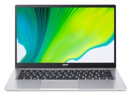 "Acer Swift 1 SF114-33-P967 Silver, 14.0 "", IPS, FHD, 1920x1080 pixels, Matt, Intel Pentium, N5030, 8 GB, LPDDR4, SSD 256 GB, Int"