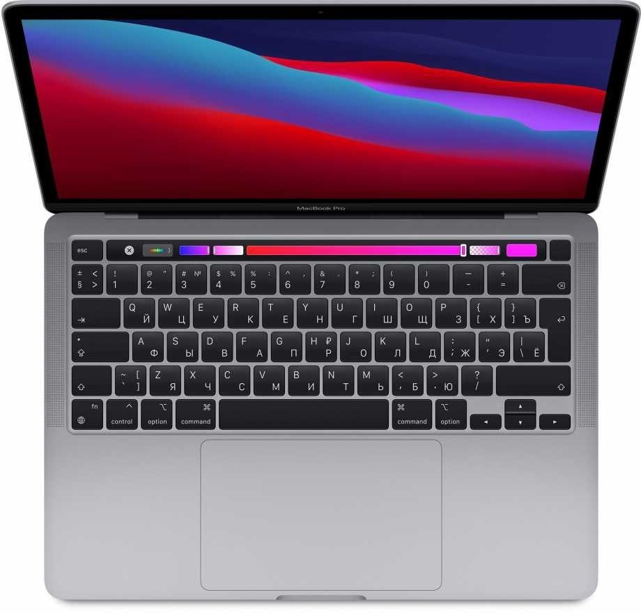"Apple MacBook Pro Space Grey, 13.3 "", IPS, 2560 x 1600, Apple M1, 8 GB, SSD 256 GB, Apple M1 8-core GPU, Without ODD, macOS, 802"