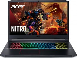 "Acer Nitro 5 AN517-52-74G2 Obsidian Black, 17.3 "", IPS, Full HD, 144 Hz, 1920 x 1080 pixels, Matte, Intel Core i7, i7-10750H, 8"