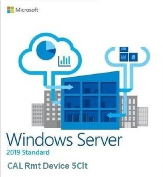 System operacyjny DELL Windows Server 2019 CAL 5-Device 623-BBDC