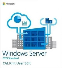 System operacyjny DELL Windows Server 2019 CAL 5-User 623-BBCU