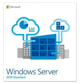System operacyjny MICROSOFT Windows Server 2019 Standard x64 16 Core PL P73-07795