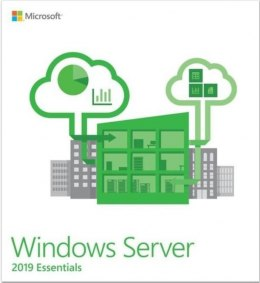 System operacyjny MICROSOFT Windows Server Essentials 2019 OEM PL G3S-01306