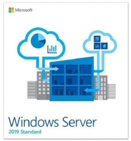System operacyjny MICROSOFT Windows Server Standard 2019 PL 4 Core P73-07914