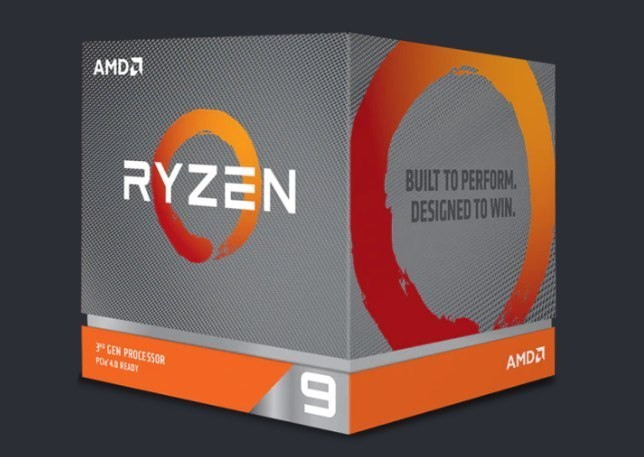 AMD Ryzen 9 3900X, 3.8 GHz, AM4, Processor threads 24, Packing Retail, Processor cores 12, Component for PC